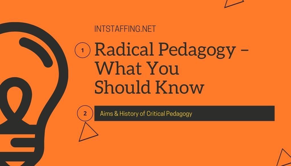 History of Critical Pedagogy
