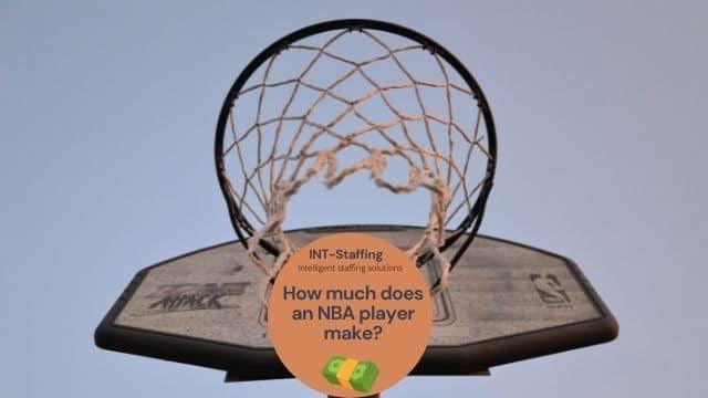 professional basketball player job description